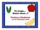 Yo tengo quien tiene frutas y verduras