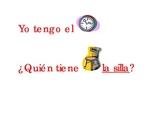 Yo tengo quien tiene school (I have Who has? school items in Spanish)