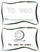 Yo veo + un/una + cosas - Librito de palabras frecuentes. HFW books Spanish
