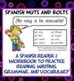 Yo voy a la escuela: A beginning Spanish verb workbook/rea