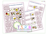 Characteristics of Life Card Sort / Cut & Stick (Inc. Answer Key)