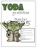Yoda Grammar Activity (Editable)