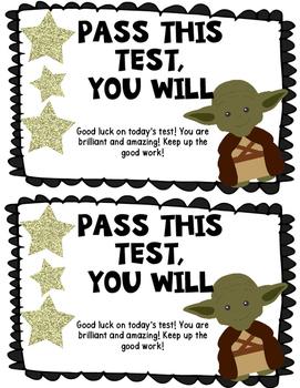 Yoda Motivational Testing Note