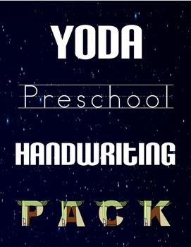 Yoda Preschool Handwriting Pack