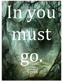 Yoda Quote (Poster)