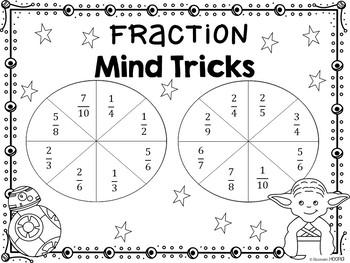 Fraction Mind Tricks: A Comparing Fractions Game