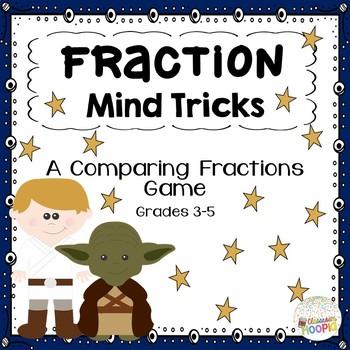Yoda's Comparing Fraction Mind Tricks