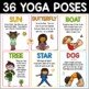 Yoga Cards for Kids: Yoga Pose Cards and Journal for Brain Breaks