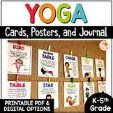 Yoga Cards for Kids | Yoga Poses | Printable Yoga Posters