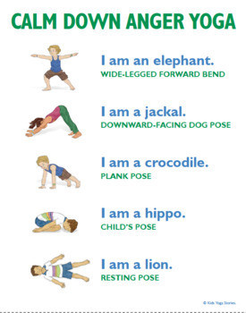 Simple Yoga Sequences For Kids By Kids Yoga Stories Tpt