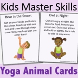 Yoga Cards - Animals