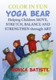 Yoga Bear 24 illustrations.