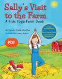 Yoga Books for Kids - Sally's Visit to the Farm