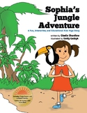 Yoga Books for Kids - Sophia's Jungle Adventure