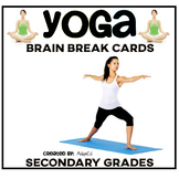 Yoga Brain Break Cards