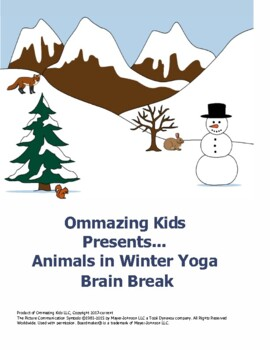 Yoga Brain Break for Animals in Winter