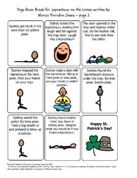Yoga Brain Break for Leprechaun on the Loose