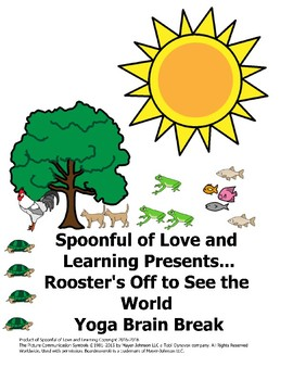 Yoga Brain Break for Rooster's Off to See the World