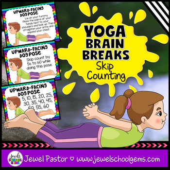 Yoga Brain Breaks (Counting and Skip Counting Activities - Math Review)