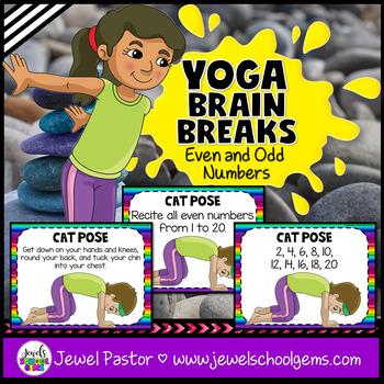 Yoga Brain Breaks (Even and Odd Number Activities)