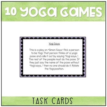 Yoga Brain Breaks and Games