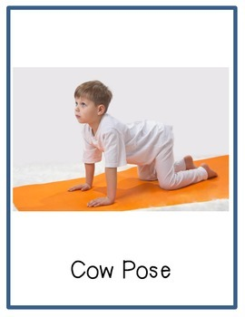 Yoga Break Cards: Preschool/Elementary School