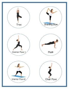 Yoga Break Popsicle Sticks: Middle/High School