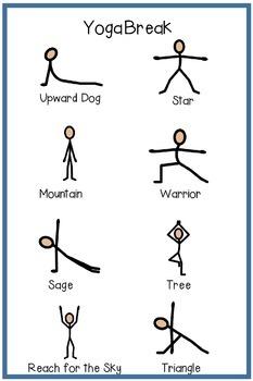 Yoga Break Poster