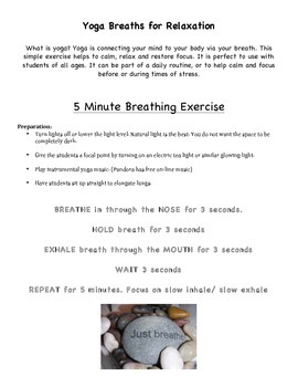 Yoga Breaths for Relaxation