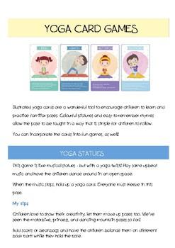 Yoga Card Games