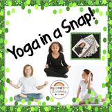 Yoga Cards with Poses Breaths and Motivational Thoughts for SEL