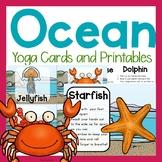 Yoga Cards On The Sea/Ocean