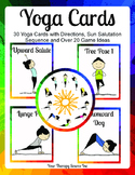 Yoga Cards and Game Ideas