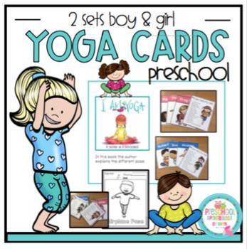 Yoga Cards For Kids By Preschool Printable Teachers Pay Teachers