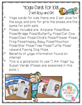 Yoga Cards for Kids