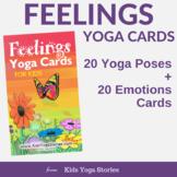 Yoga Cards for Kids - Feelings Yoga Poses