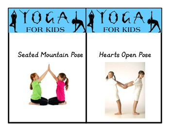 Yoga Cards For Kids Yoga In The Classroom Mindfulness Primary Classroom