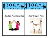 Yoga Cards for Kids - Yoga in the Classroom, Mindfulness,
