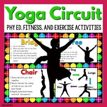 Yoga Circuit - Physical Education and Exercise Activities