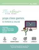 Yoga Class Games