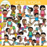 Yoga Clip Art {Fitness Clip Art}
