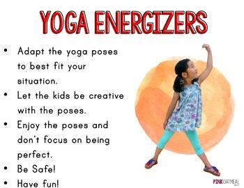 Yoga Energizers
