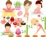 Yoga Fitness Health SVG Cutting files Clip Art exercise aerobic school sport 68S