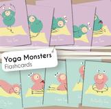 Yoga Flashcards - Yoga Monsters