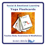 Yoga Flashcards for Kids I SEL Body Awareness