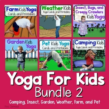 Yoga For Kids Bundle 2
