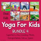 Yoga For Kids Bundle 4