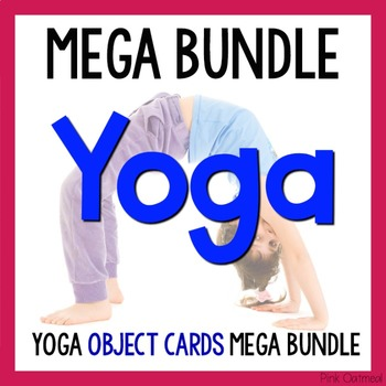 Yoga For Kids Objects Mega Bundle