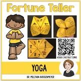 Yoga Fortune Teller Game