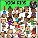 Yoga Fun Clip Art Bundle {Educlips Clipart}